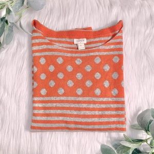 J. Crew patterned sweater size small